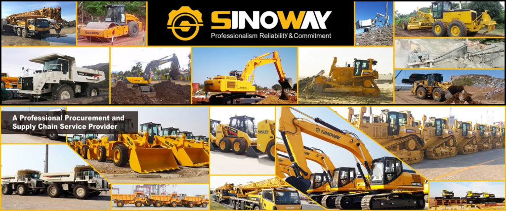 Sinoway wide range heavy machinery